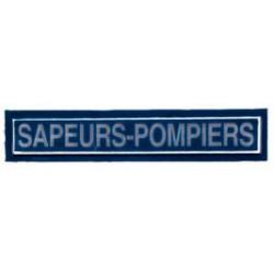 Barrette Sapeurs-Pompiers bleu