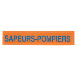 Barrette Sapeurs-Pompiers orange