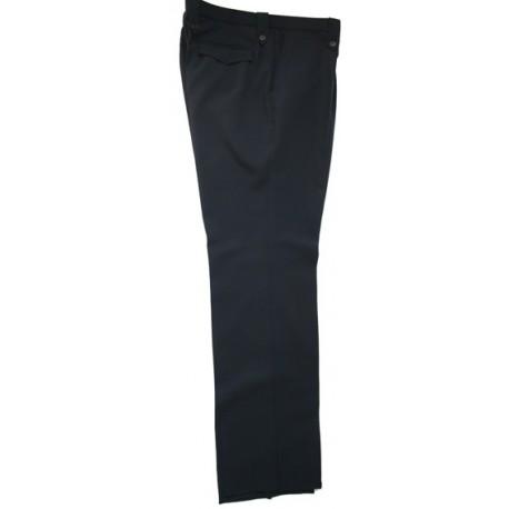 Pantalon 1/2 saison marine Femme