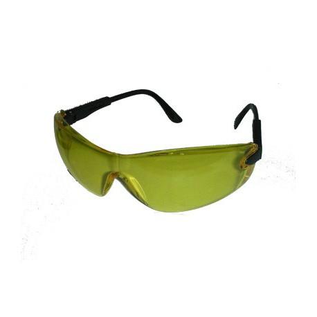 lunette de protection pour le tir cran polycarbonate jaune. Black Bedroom Furniture Sets. Home Design Ideas