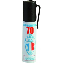 AEROSOL DEFENSE GAZ LACRYMOGENE 25ML