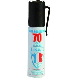 AEROSOL DEFENSE GAZ LACRYMOGENE 25ML
