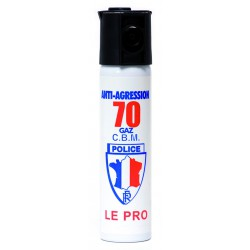 AEROSOL DEFENSE GAZ LACRYMOGENE 75ML
