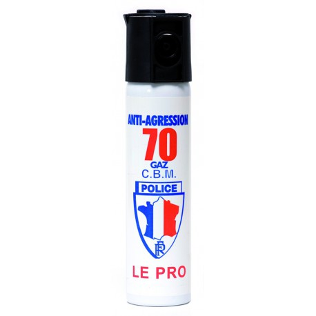 AEROSOL DEFENSE GAZ LACRYMOGENE 75ML