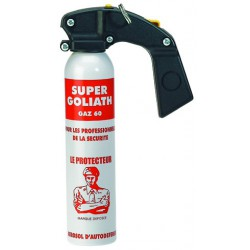 Bombe aérosol de défense au gaz lacrymogène 300ML