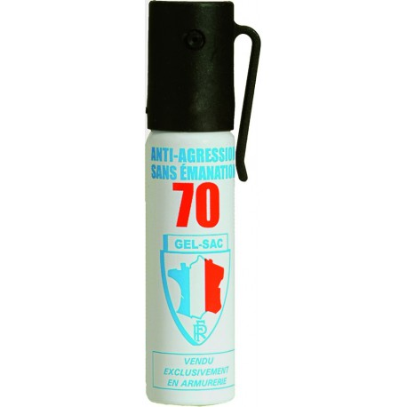 AEROSOL DEFENSE GEL LACRYMOGENE 25ML
