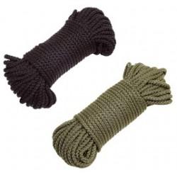 Drisse corde noir ou kaki