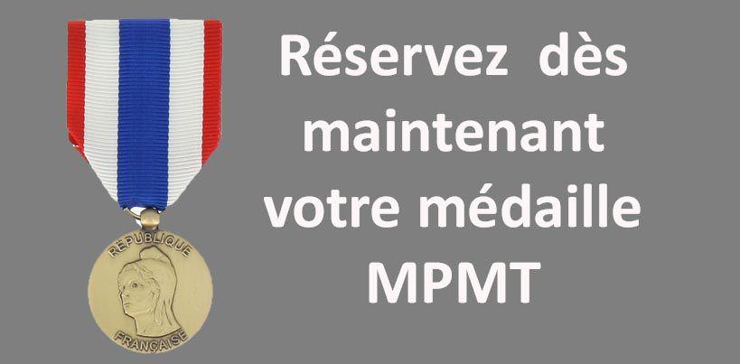 Médaille militaire protection du territoire