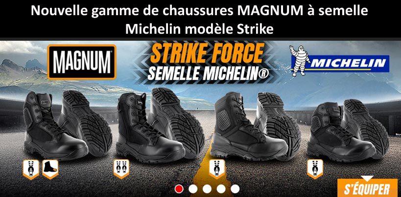 Chaussures d'intervention Magnum modèle Strike