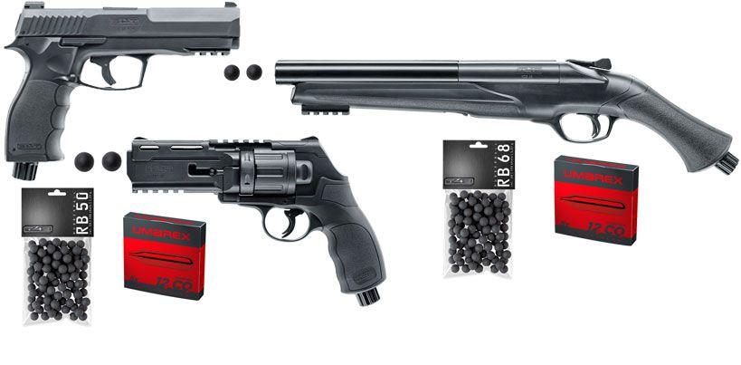 Arme défense et entrainement au tir T4E HDS68 et HDR50