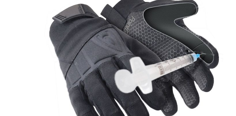 Gants de protection et d'intervention anti-piqure